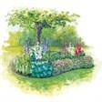 Гостевой дом на озере - иконка «сад» в Иглино